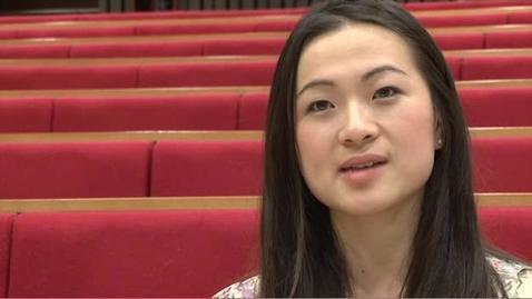 Thumbnail for entry Kay Li - BA Economics with Chinese Studies