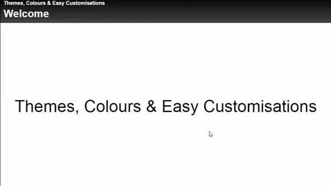 Thumbnail for entry Customising Xerte