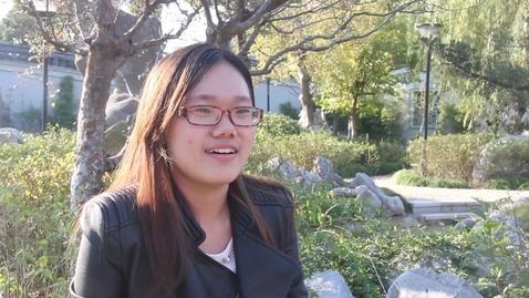 Thumbnail for entry Xie Wenwen, International Business Economics, SKKU (English)