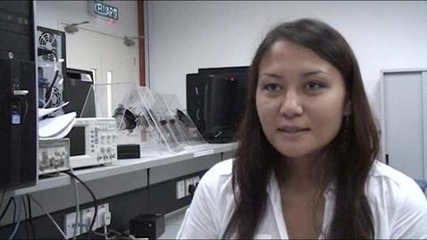 Thumbnail for entry Bakhyt Ishanova - MSc Electronic Communications and Computer Engineering