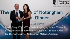 Thumbnail for entry Alumni of the Year 2013 - The University of Nottingham Malaysia Campus
