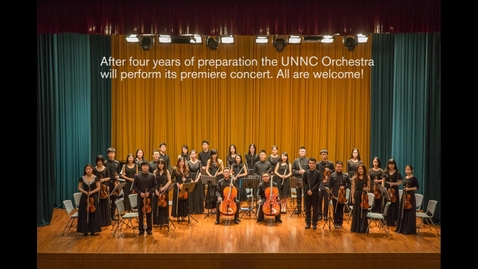 Thumbnail for entry UNNC orchestra plays its first-ever headline concert