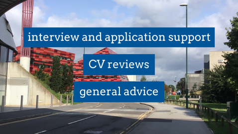 Thumbnail for entry Careers team on Jubilee campus