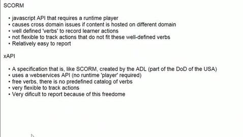 Thumbnail for entry Xerte and SCORM