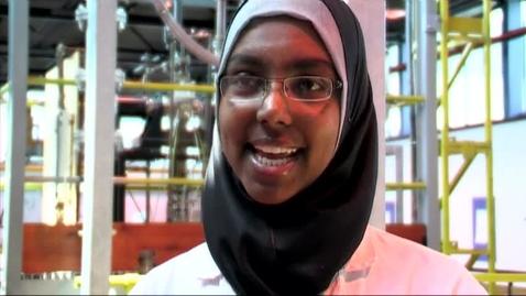 Thumbnail for entry Samah Mohamed - MSc Chemical Engineering