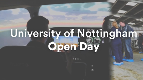Thumbnail for entry Open Days at UoN