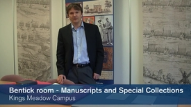 Thumbnail for entry The Bentinck Room - Manuscripts and Special Collections