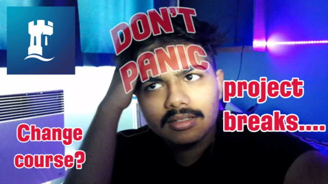 Thumbnail for entry Why you shouldn't panic! | BeU Week | University of Nottingham