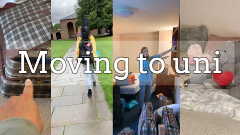 Thumbnail for entry Vlog: Moving to Nottingham/uni room tour