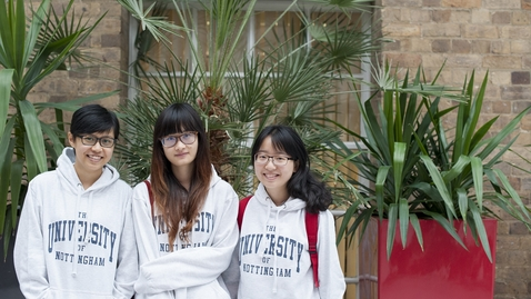 Thumbnail for entry Weibo at The University of Nottingham (English)