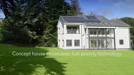 Thumbnail for entry Concept house showcases fuel poverty