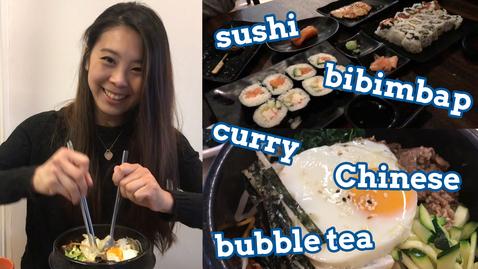 Thumbnail for entry Vlog: Top 5 Asian restaurants in Nottingham