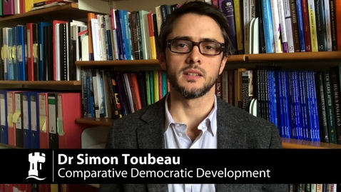 Thumbnail for entry M14346 Comparative Democratic Development