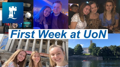 Thumbnail for entry Vlog: My first week at the University of Nottingham 2020