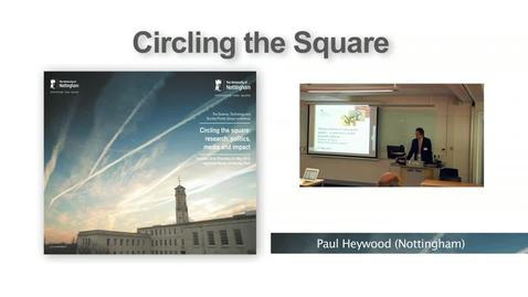 Thumbnail for entry 5. Research and policymaking, Professor Ian Boyd (Circling the Square I)