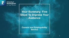 Thumbnail for entry LinkedIn: Your Summary