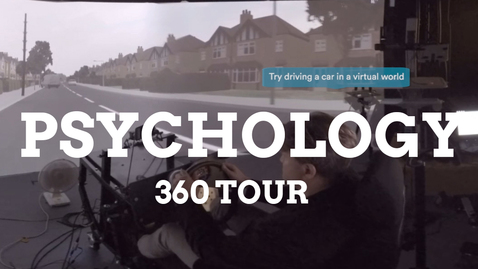 Thumbnail for entry Psychology 360 facilities tour