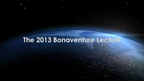 Thumbnail for entry Johannes Hoff – Rethinking Modernity with Nicholas of Cusa 2013 Bonaventure Lecture