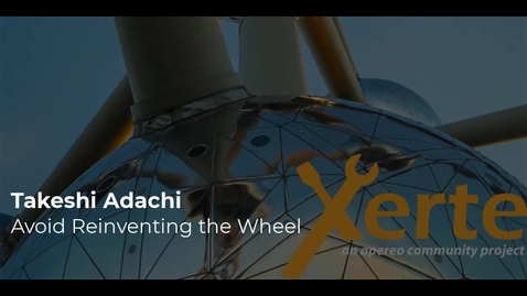 Thumbnail for entry Avoid Reinventing the Wheel - Takeshi Adachi