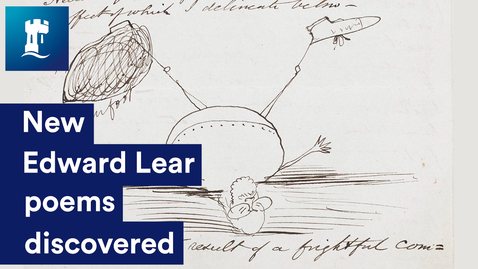 Thumbnail for entry Edward Lear Discovery