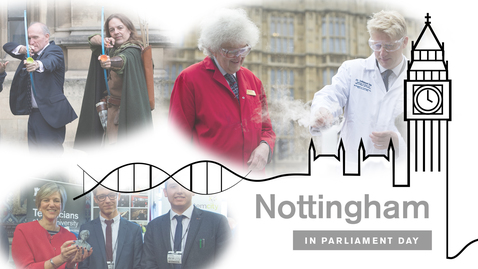 Thumbnail for entry Nottingham in Parliament Day