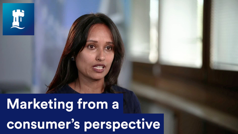 Thumbnail for entry Marketing from a consumer's perspective  - Dr Samanthika Gallage, Assistant Professor in Marketing
