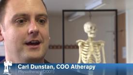 Carl Dunstan - Physiotherapy alumnus 2001