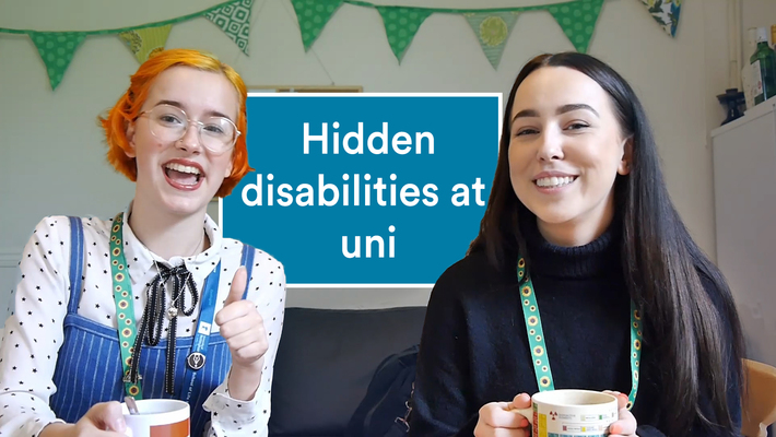 Vlog: Living with a hidden disability at university