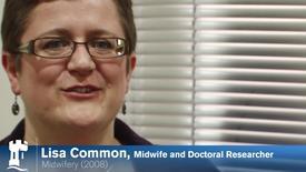 Lisa Common - Midwifery Alumna 2008