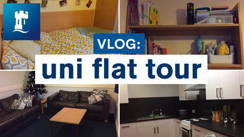 Thumbnail for entry Vlog: Uni room/flat tour | Raleigh Park | self-catered accommodation