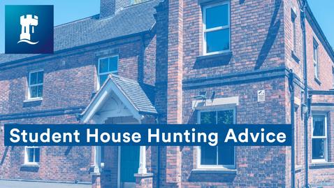 Thumbnail for entry Student accommodation house hunting tips | UoN SU | University of Nottingham