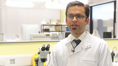 Thumbnail for entry Alumnus - MMedSci Assisted Reproduction Technology, Pranay Ghosh