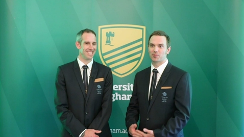 Thumbnail for entry Tim Baillie and Etienne Stott – University of Nottingham Sport Hall of Fame