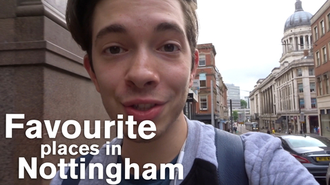 Thumbnail for entry Vlog: Favourite places in Nottingham