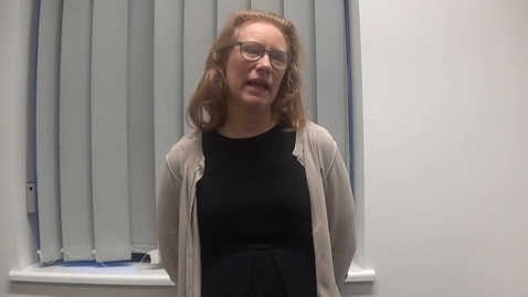Thumbnail for entry Dr Bonnie Millar speaking about the Investigating Musculoskeletal Health and Wellbeing Cohort Study