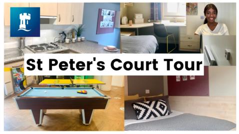 Thumbnail for entry University of Nottingham Accommodation | St Peter's Court Tour