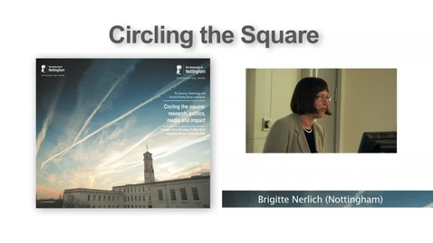 Thumbnail for entry 3. Research and the media, Dr Andy Williams (Circling the Square I)