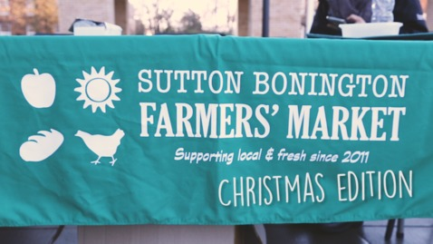 Thumbnail for entry Vlog: Sutton Bonington Christmas Farmers' Market 2016