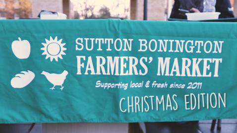 Thumbnail for entry Vlog: Sutton Bonington Christmas Farmers' Market 2016