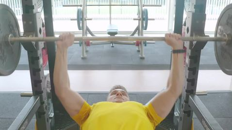 Lifting instruction video - bench press