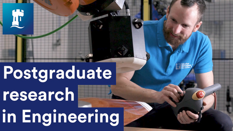 Postgraduate research in Engineering