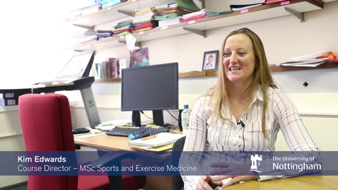 Thumbnail for entry MSc Sport and Exercise medicine