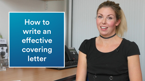 Thumbnail for entry Career advice | How to write an effective covering letter