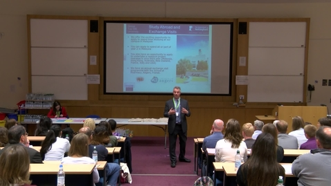 Thumbnail for entry Welcome to the School of Pharmacy - Clive Roberts