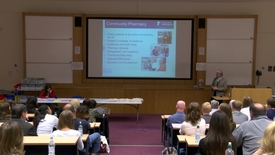 Thumbnail for entry Welcome to the School of Pharmacy - Tom Gray on career opportunities