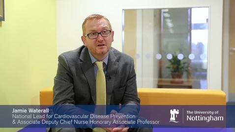 Thumbnail for entry Jamie Waterall - Alumni (nursing) profile