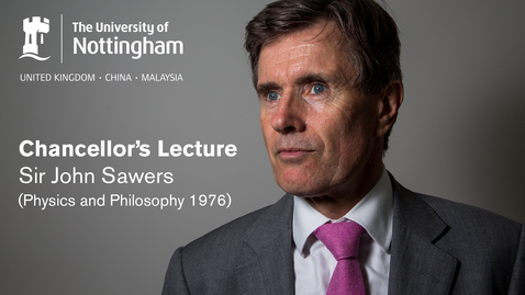 Thumbnail for entry Sir John Sawers Chancellor's Lecture: technology and security