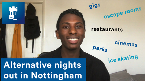 Thumbnail for entry Vlog: Alternative nights out in Nottingham