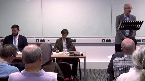 Thumbnail for entry Firth Seminar 2018 - Professor John Barclay