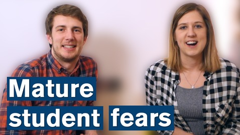 Thumbnail for entry Vlog: Mature student fears